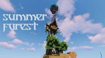 Summer Forest - A cutaway (One Chunk Challenge) Minecraft Map & Project