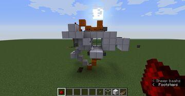 2*2 seamless glass piston door Minecraft Map & Project