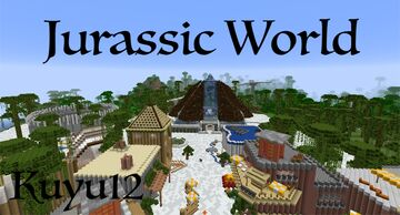 Jurassic World - Part 1 Minecraft Map & Project