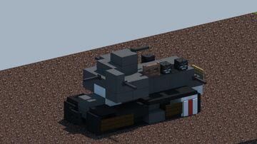 "WW1 Medium Mark A ""whippet"" tank Minecraft Map & Project"
