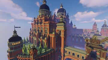Merchant Guild Palace Minecraft Map & Project