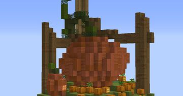A slice of Halloween Minecraft Map & Project