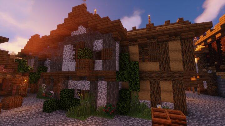 Une maison dans la cite