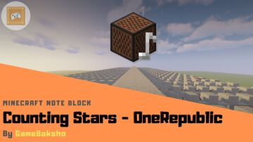 Counting Stars - OneRepublic | Minecraft Note Block Minecraft Map & Project