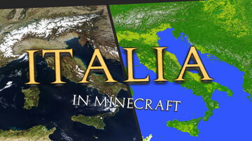 ITALY MAP [22k x 24k] REMADE! [FREE DOWNLOAD] 1.16.2 1:85ish Minecraft Map & Project