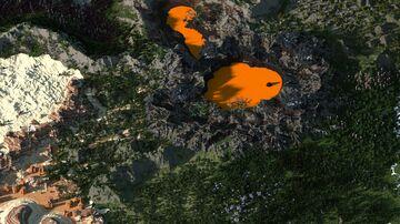 RPG fantasy island - 5000х5000 Minecraft Map & Project