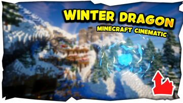 HUB - WINTER DRAGON + FREE DOWNLOAD Minecraft Map & Project