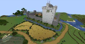 Irish Tower House - Kilcrea Castle Minecraft Map & Project