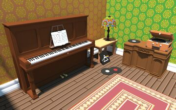 1970's Music Room Minecraft Map & Project