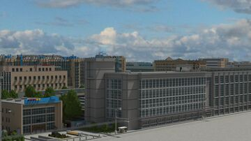 ZIL FACTORY PROJECT/RECONSTRUCTION OF THE DESTROYED MOSCOW AUTOMOBILE PLANT Minecraft Map & Project