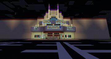 Regal Cinema Minecraft Map & Project