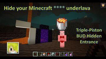 Hide your StAsH underLAVA in Nether minecraft 1.17 Minecraft Map & Project