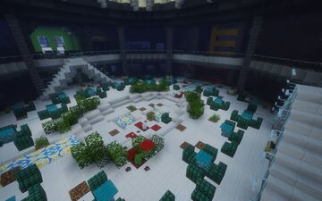 apocalyptic mall (ported from bedrock for a contest) Minecraft Map & Project