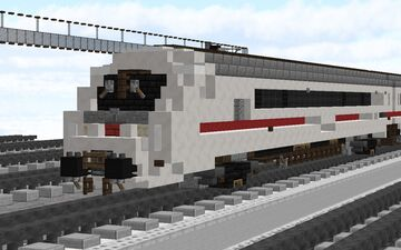 IC Metropolitan w/ BR 245  // 1:5:1 Scale Minecraft Map & Project