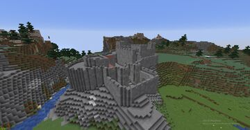 13th-14th century castle Minecraft Map & Project