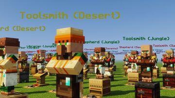Villager Cheat Sheet Minecraft Map & Project