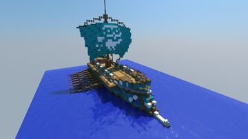 AC Oydssey Athenian Trireme Minecraft Map & Project