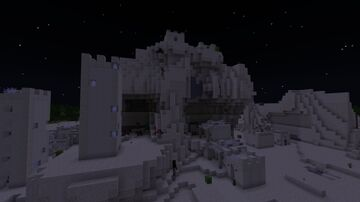 """""""Devil's Base"""" and """"God's Fortress"""" Minecraft Map & Project"""