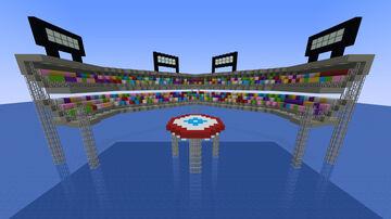 Swordplay Arena (Wii Sports Resort) Minecraft Map & Project
