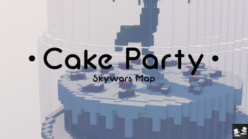 Minecraft Skywars Map - DOWNLOAD FREE ! [1.8+] - Cake Party by TwoPixel Minecraft Map & Project