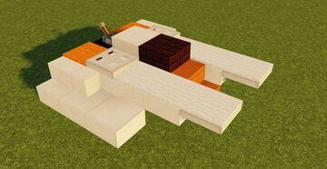 Star Wars T-47 Airspeeder Minecraft Map & Project