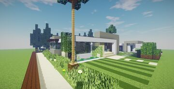 Modern House #52 Minecraft Map & Project