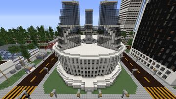 Star Labs - CW The Flash / Arrowverse Minecraft Map & Project