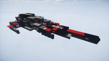 Red Typhoon Haul III - Space fighter | MFC | Minecraft Map & Project