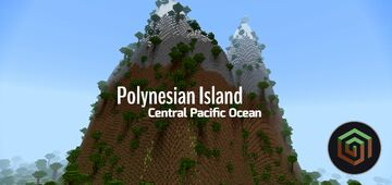 Polynesian Island [PE - MAP] Minecraft Map & Project