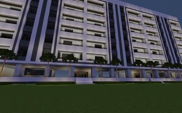 Brasília-style apartments REVISITED (and improved) Minecraft Map & Project