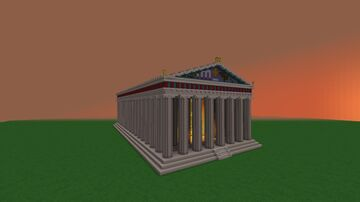 Parthenon Minecraft Map & Project