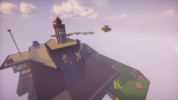 Whomp's Fortress Super Mario 64 DS Map Minecraft Map & Project