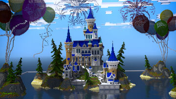 Birthday Palace Minecraft Map & Project