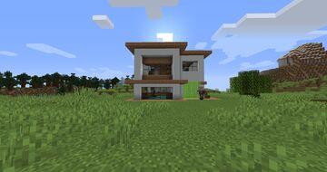 Plains Modern House Minecraft Map & Project