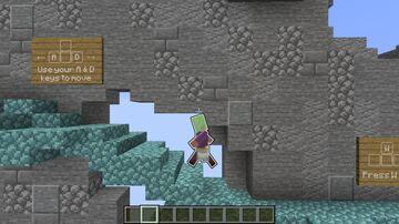 Bliss   Mini-Minecraft 2D Platformer Minecraft Map & Project