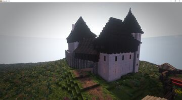 14th -15th century bohemian castle Minecraft Map & Project