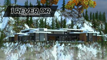 1 Rêver DR || //oons Architecture || Modern Mansion Minecraft Map & Project