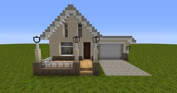 Realistic House - 2 Minecraft Map & Project