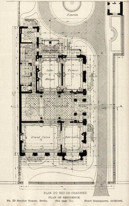 Building's First Floor Plan