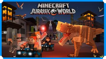 Jurassic World Adventure Map Preview Minecraft Map & Project