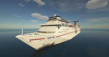 Carnival Elation 1:25 (MOST ACCURATE TO DATE) Minecraft Map & Project