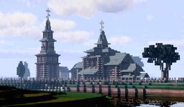 Tserkov' Il'i Proroka (Church of Elijah the Prophet on Ivanova Hill) Suzdal, Russia Minecraft Map & Project