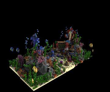[EXCLUSIVE] Aquatic Kingdom CTF Map 400×210 Minecraft Map & Project