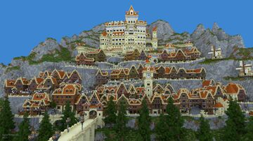 Montanysia - Mountain Kingdom Minecraft Map & Project