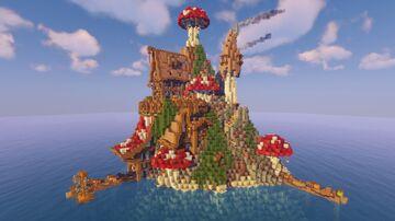 Mushroom Island Village Minecraft Map & Project