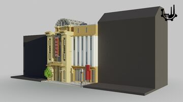 Museum of Minecraft Art | Minecraft Town House Minecraft Map & Project