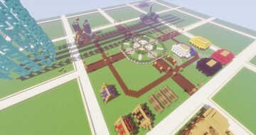 Camping Spawn Minecraft Map & Project