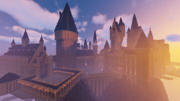 Hogwarts (Farewell Project) | Harry Potter Minecraft Build Minecraft Map & Project
