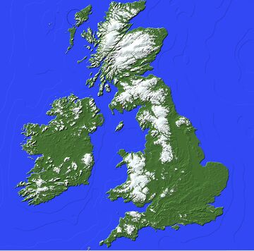 Map of UK | 1.12.2 | Earth Maps Minecraft Map & Project
