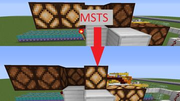 MSTS (Minecart Securtiy Transport System) Minecraft Map & Project